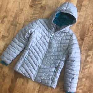 Girl's Columbia Puffy Coat